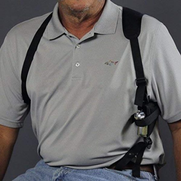 """Wyoming Holster  7 Gun Holster buy 1 Shoulder get 2 free CONCEALED & ANKLE FITS STEYER M9-A1 9X19 STYER L9-A2 MF 4.5"""" BRL SIG P320 XFULL M&P M2.0 9MM 5.0"""" BRL SPRINGFIELD XD-M TACTICAL OSP 9MM PRECISION 9MM 6"""