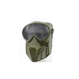JustBBGuns Airsoft Mask 1 JustBBGuns Airsoft Pro Full Face Mask with Metal Mesh Eye Protection