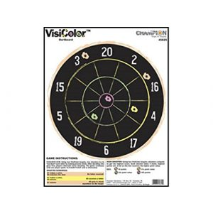 Champion Airsoft Target 1 VisiColor High-Visibility Paper Targets