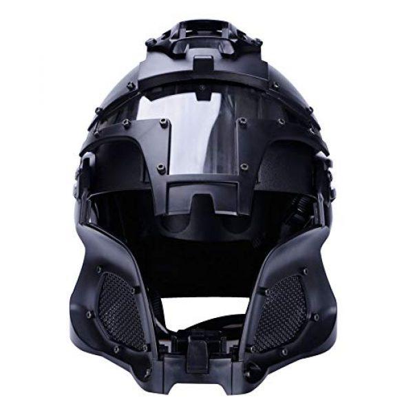 Airsoft Paintball Full Face Mask Helmet