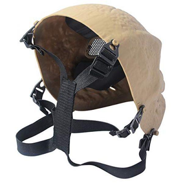 Outgeek Airsoft Mask 2 Outgeek Airsoft Mask Scary Skull Outdoor Full Face Mask Mesh Eye Protection Mask