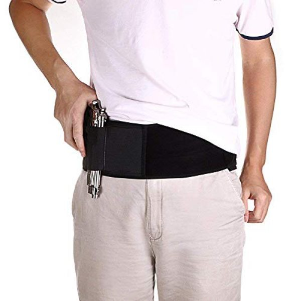 DMAIP  1 DMAIP IWB Belly Band Holster for Concealed Carry Fits Gun Glock P238 Ruger LCP and Similar Sized Guns