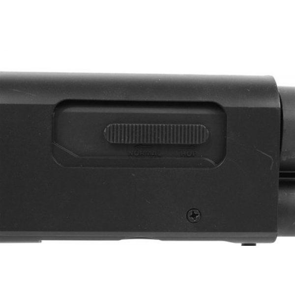 AGM  5 Airsoft M500 Tactical Full Stock Pump Action Spring Shotgun