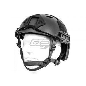 Lancer Tactical Airsoft Helmet 1 Lancer Tactical Airsoft Tactical PJ Type Helmet LRG/XL - Black