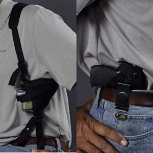 Wyoming Holster  1 Gun Holster buy 1 Shoulder get 2 free CONCEALED & ANKLE FITS SCCY DVG W/CRIMSON TRACE Taurus Millennium PT 111 PT PT 140 Sig P938 Kahr 9MM High Point 380 Compact 9 Glock 26 27 28 29 30 39 42 43 0