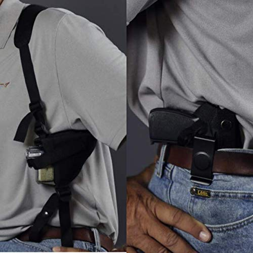 Wyoming Holster  1 Gun Holster buy 1 Shoulder get 2 free CONCEALED & ANKLE FITS SCCY DVG W/CRIMSON TRACE Taurus Millennium PT 111 PT PT 140 Sig P938 Kahr 9MM High Point 380 Compact 9 Glock 26 27 28 29 30 39 42 43 0