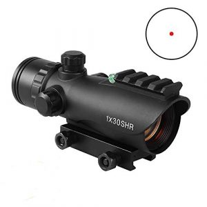 Sniper Airsoft Gun Sight 1 Sniper RD30SR 1x30mm 3 MOA Red Dot Sight Fit 20mm Picatinny Rail