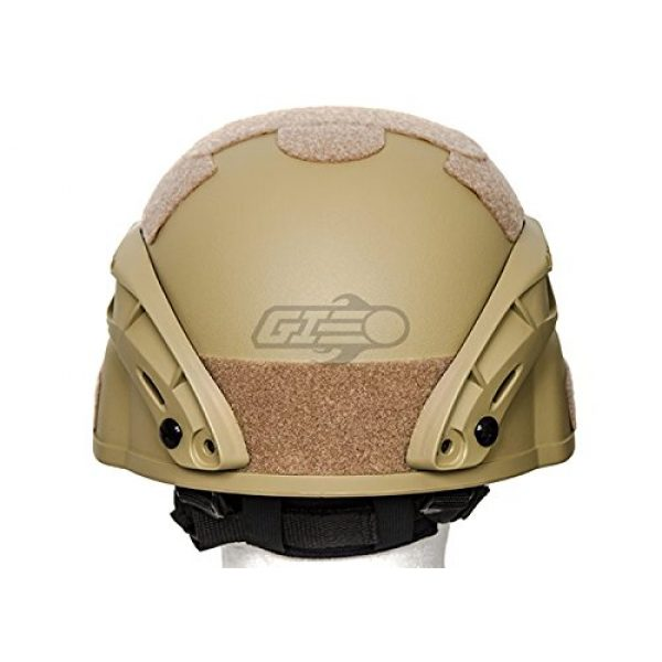 Lancer Tactical Airsoft Helmet 4 Lancer Tactical MICH 2000 SF Helmet (Tan)