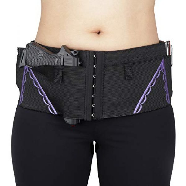 DMAIP  1 DMAIP Ultimate Belly Band Holster for Concealed Carry Gun Pistols Revolvers Bodyguard