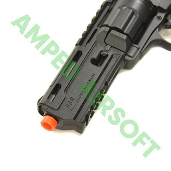 Elite Force Airsoft Pistol 6 Elite Force H8R Revolver - Black Airsoft Pistol/Gun