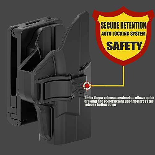 9MM/.40 3.1 Barrel Handgun Holder