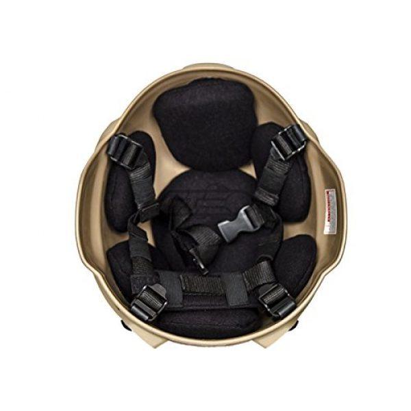 Lancer Tactical Airsoft Helmet 6 Lancer Tactical MICH 2000 SF Helmet (Tan)