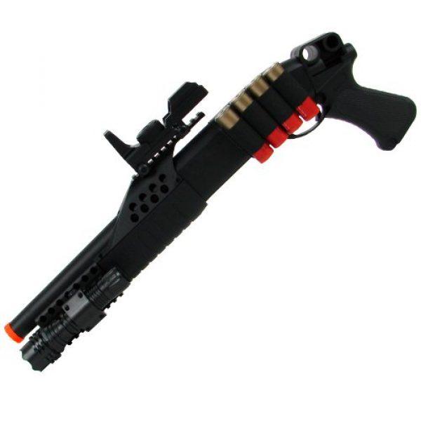 TM GLOBAL  3 airsoft m180a2 pump action shot gun with light(Airsoft Gun)