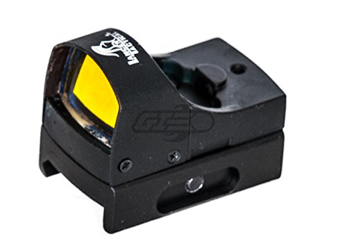 Lancer Tactical Airsoft Gun Sight 1 Lancer Tactical CA-411B Mini Red Dot Reflex Sight