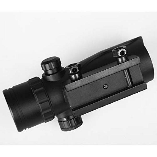 Sniper Airsoft Gun Sight 5 Sniper RD30SR 1x30mm 3 MOA Red Dot Sight Fit 20mm Picatinny Rail