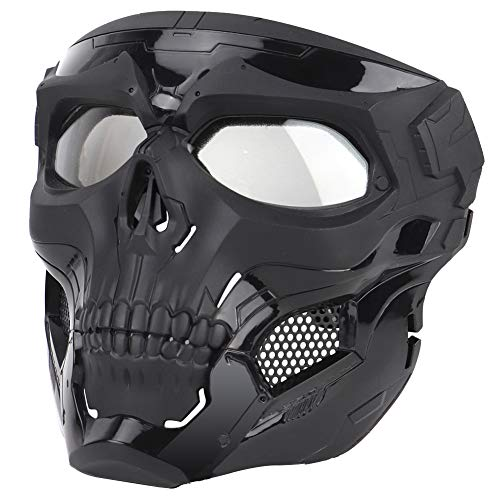 ATAIRSOFT Airsoft Mask 5 ATAIRSOFT Tactical Protective Adjustable Skull Full Face Mask for Airsoft Paintball Cosplay Costume Party Hockey