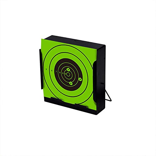 Pop Resin Airsoft Target 3 Pop Resin Splatter Shooting Target Air Shot Paper Targets-5.5 by 5.5-Fits Gamo Cone Traps Metal Box BB Catcher Target Holder Pellet Trap for Air Rifle/Airsoft Pistol