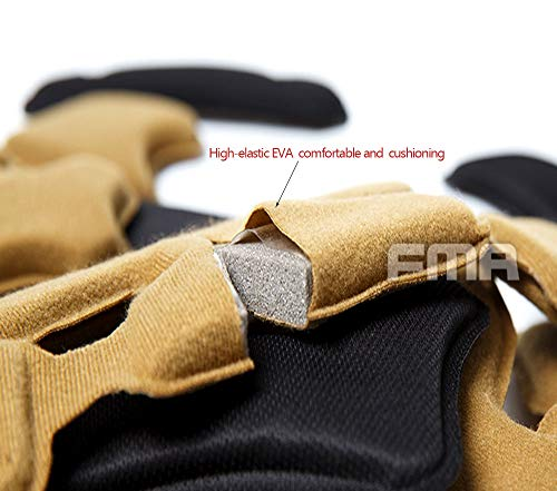 Supspy Airsoft Helmet 5 Tactical Airsoft Helmet Pads FMA Internal Foam Protective Cushion Accessories Liner System for Fast MT MICH IBH AF ACH Outdoor Paintball Helmet