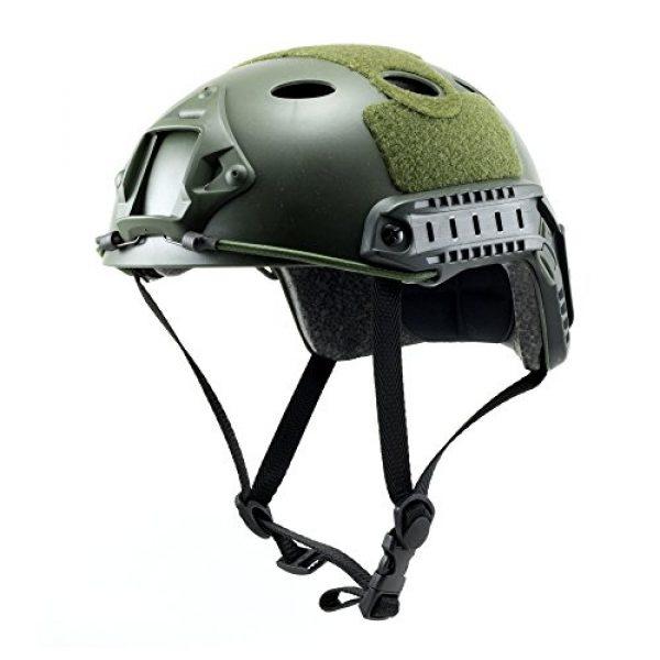 Tactical Crusader Airsoft Helmet 1 Tactical Crusader Lightweight Tactical Helmet