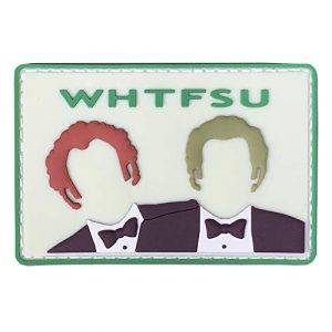 "Violent Little Machine Shop Airsoft Patch 1 ""WHTFSU"" Step Brothers Morale Patch by Violent Little Machine Shop"