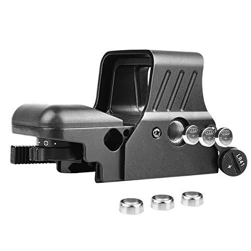 MidTen Airsoft Gun Sight 6 MidTen 1X22X32 Red Green Dot Sight 4 Reticles Reflex Sight Quick Detach Mount 20mm Rail