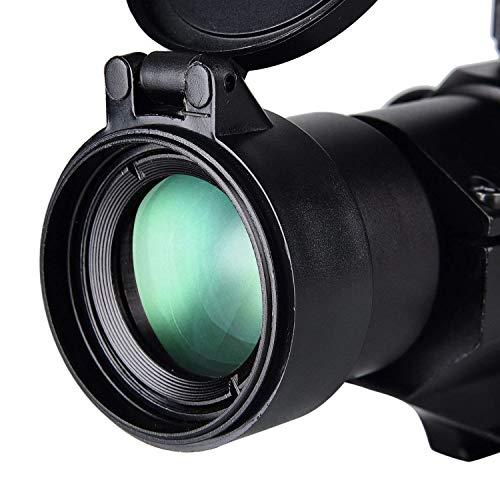 CVLIFE Airsoft Gun Sight 4 CVLIFE Tactical Gun Sight Red Green Dot Scope Reflex Sight for 20mm Cantilever Mount