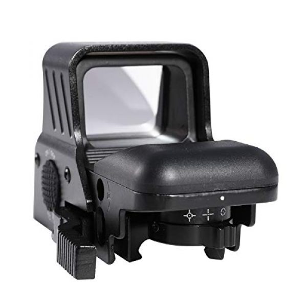 Pinty Airsoft Gun Sight 2 Pinty 1x22x33 Reflex Sight Red Dot Sight with 4 Reticles