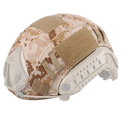 EMERSONGEAR Airsoft Helmet 1 EMERSONGEAR Tactical Helmet Cover Camouflage Combat Helmet Accessories for Airsoft Paintball Gear Fast Helmet Cover BJ/PJ/MH
