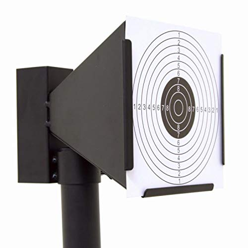Bullet Trap Wall-mounted for Airsoft Air Rifles Air Gun Indoor Outdoor Shooting Training +10 Papers Targets