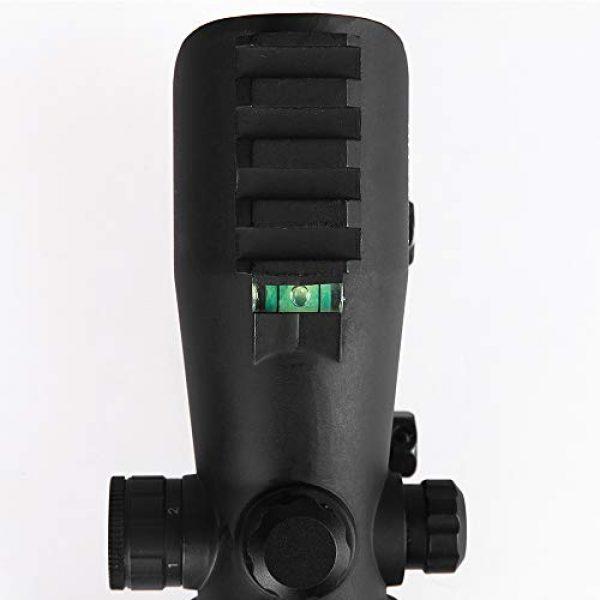 Sniper Airsoft Gun Sight 4 Sniper RD30SR 1x30mm 3 MOA Red Dot Sight Fit 20mm Picatinny Rail