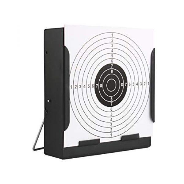 PP-NEST Airsoft Target 2 PP-NEST Target Box Metal Frame for Paper Targets Airsoft Rifle Pistol Shooting (NO Paper Targets) CJ/LSBK-01