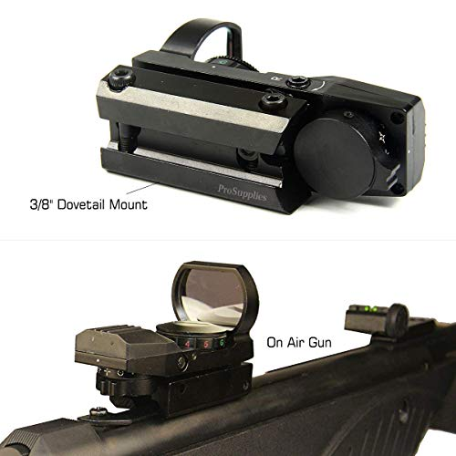 """3/8"""" Dovetail Mount for Airgun Airsoft and .22 RF"""