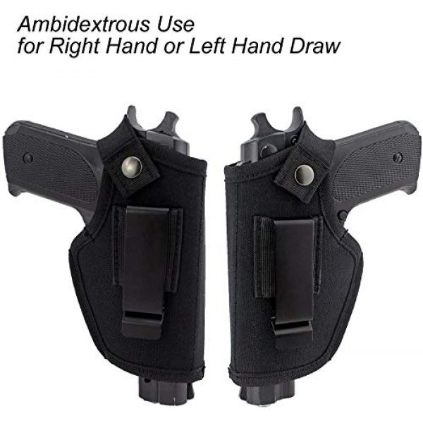 ACEXIER  4 ACEXIER Hunting Concealed Belt Holster Tactical Pistol Bags Waistband IWB OWB Gun Holster fits Subcompact to Large Handguns for Right&Left Hand Draw