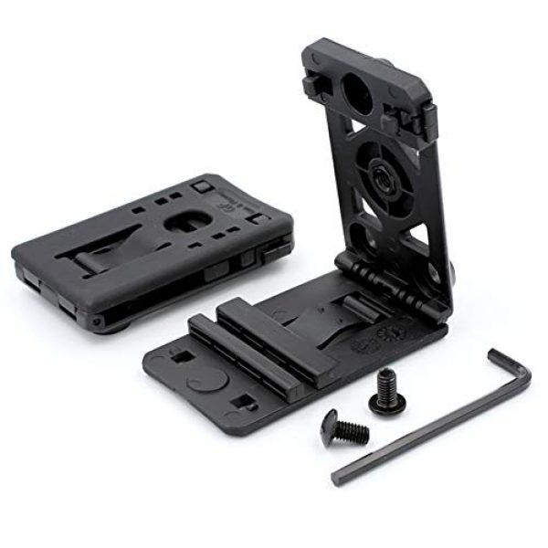 Gun&Flower  1 Gun&Flower Adjustable Tactical Belt Clip Accessories