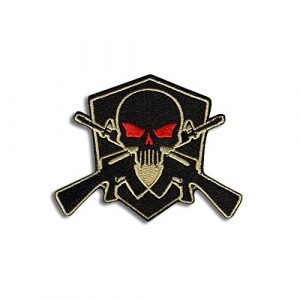 BASTION Airsoft Patch 1 BASTION Morale Patches (Skull Shield