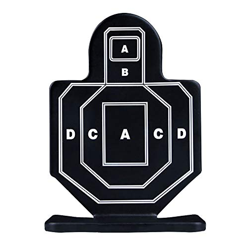 Aoutacc Airsoft Target 3 Aoutacc 4 Pcs Steel Brave Warrior Targets
