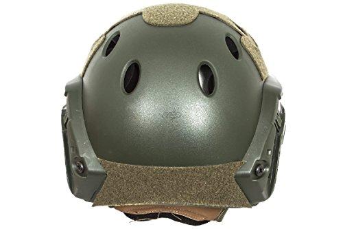 Bravo! Airsoft Helmet 4 Bravo! PJ Helmet Version 3 in (OD Green)