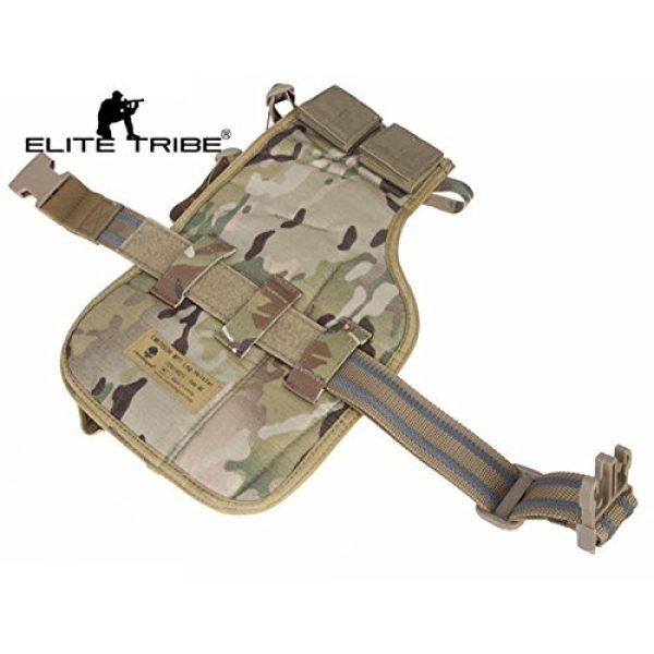 Elite Tribe  1 Elite Tribe MP7 Tactical Leg Holster Shooting Pistol Drop Pouch Multicam Camo Gun Holder Left Right Hand
