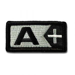 BASTION Airsoft Patch 1 BASTION Morale Patches (Blood Type A Pos