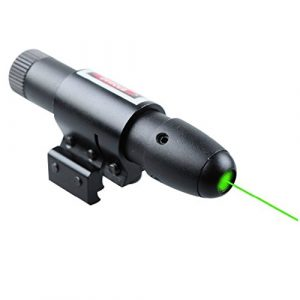 MAYMOC Airsoft Gun Sight 1 MAYMOC Green Laser Dot Sight Military Tactical Hungting Green Laser Scope with Ajustable Bracket 11MM 20MM