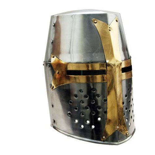 THORINSTRUMENTS (with device) Airsoft Helmet 2 THORINSTRUMENTS (with device) Great Brass Crusader Helmet