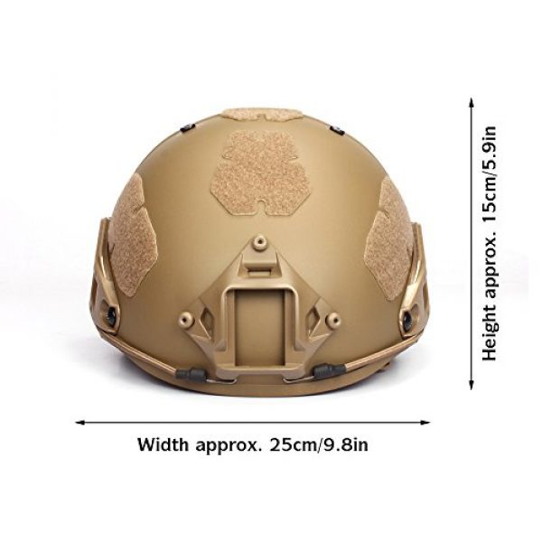 Outry Airsoft Helmet 2 Outry Tactical Fast Helmet