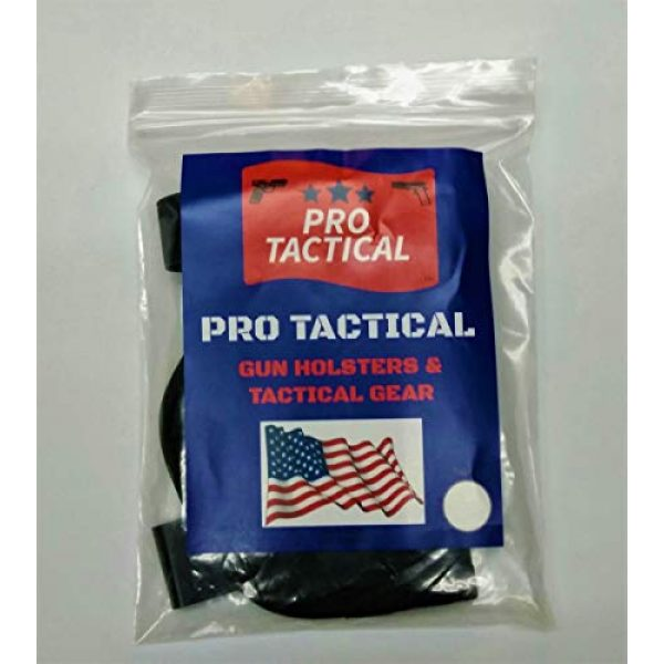 PRO TACTICAL  4 PRO TACTICAL Gun Holster IWB Concealment Holster in The Pants Holster FITS Glock 17 19 21 22 23 and Most Full Size Automatic and Some Revolvers