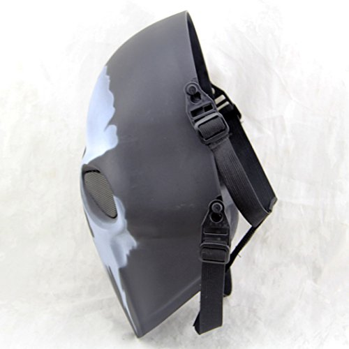 Outgeek Airsoft Mask 6 Outgeek Airsoft Mask Full Face Protective Mesh Mask Skull Mask for Costume