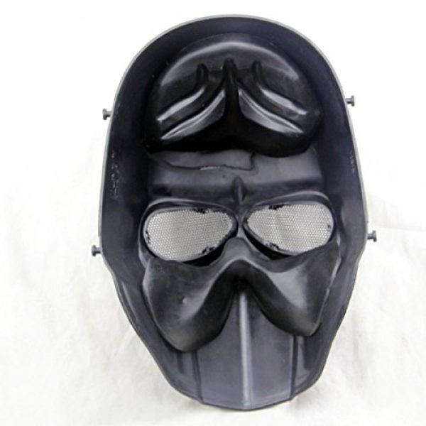 Outgeek Airsoft Mask 4 Outgeek Airsoft Mask Full Face Protective Mesh Mask Skull Mask for Costume