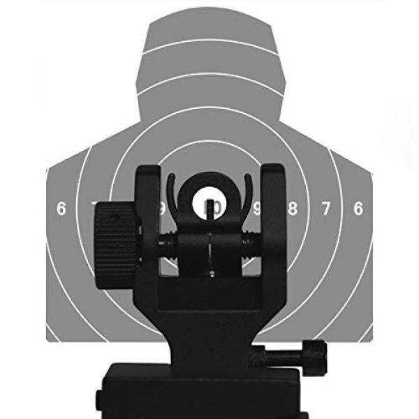 CQ Top Airsoft Gun Sight 4 CQ Iron Sights for Rifle