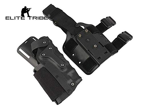 Elite Tribe  1 Elite Tribe Army Military Gun Holster Airsoft SWAT Shooting Holster Combat Tactical Modle Waist Leg Holster