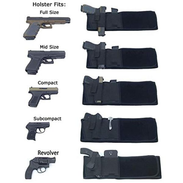 NORTH BAY  2 NORTH BAY Belly Band Holster for Concealed Carry
