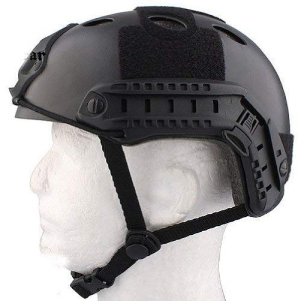 ATAIRSOFT Airsoft Helmet 4 ATAIRSOFT PJ Type Tactical Paintball Airsoft Fast Helmet