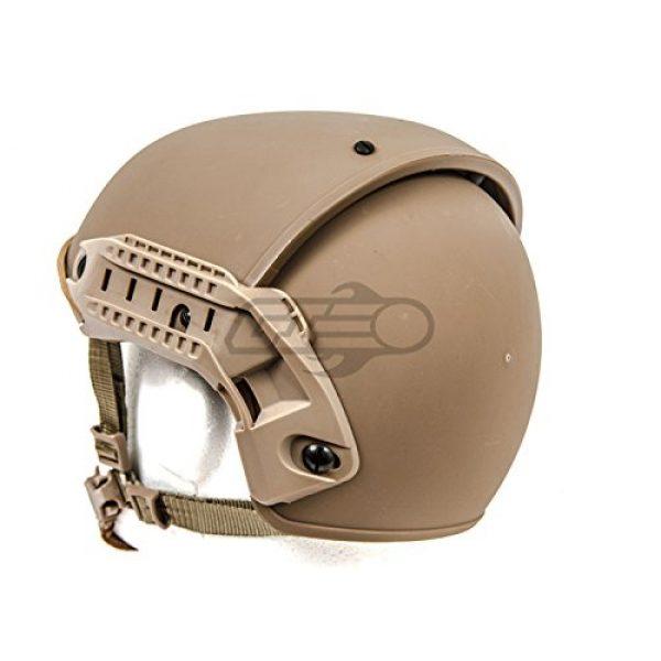 Lancer Tactical Airsoft Helmet 4 Lancer Tactical CA-761 CP AF Air Force Safety Airsoft Helmet (Tan)
